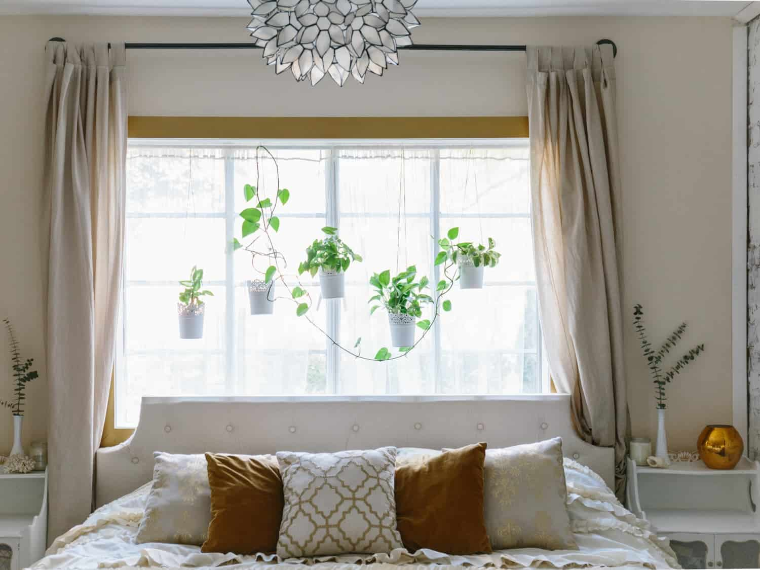 Pretty Light-Filled Rooms