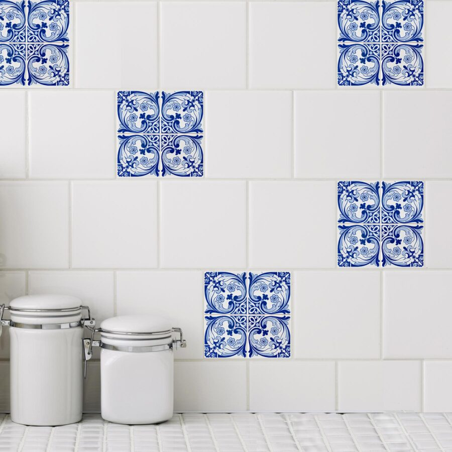 Tile Stickers Are The 1 Best Makeover, Tile Decals For Bathroom